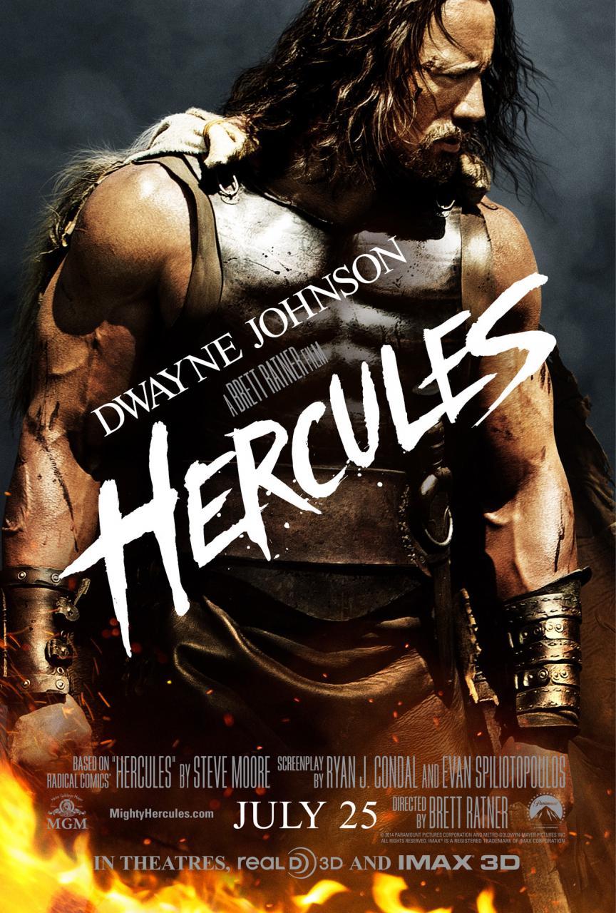 The Rock deviens Hercule au cinéma
