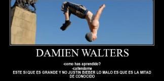 Les exploits de Damien Walters !