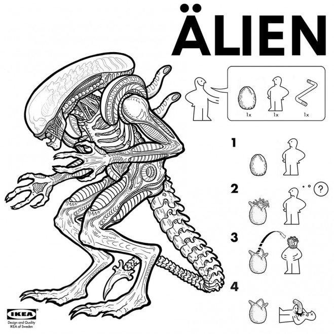 film-alien-Ikéa