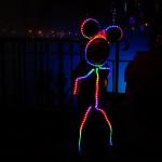 costume LED Minnie Mouse