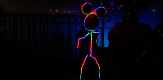 costume LED Minnie Mouse