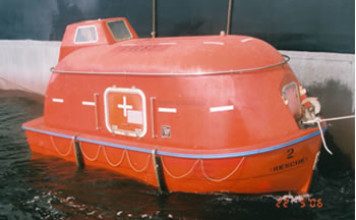 embarcation de sauvetage