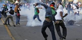manifestant vénézuélien