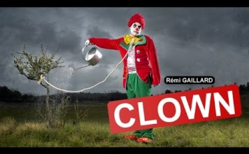 Rémi Gaillard Clown