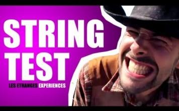 String test - les étranges expériences