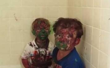 enfants-peinture