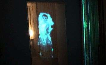 Hologramme de fantôme