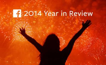 L'année 2014 par Facebook