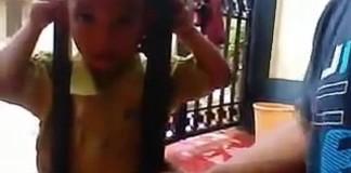 Décoincer la tête d'un enfant