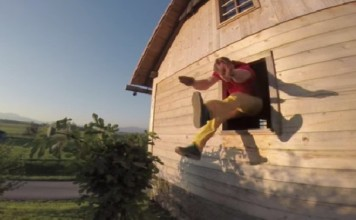 Dominik Sky Window Jumps 2014