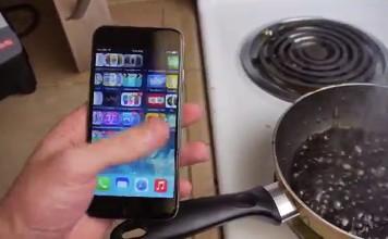 Faire bouillir un iPhone 6 dans du Coca-Cola!