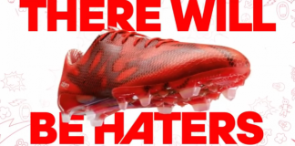 Pub Adidas Football (There Will Be Haters)