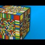 gros Rubik's Cube