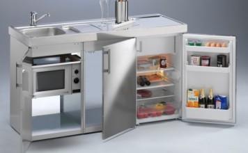 Faire à manger dans une mini-cuisine