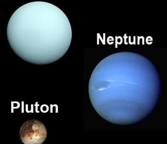 Neptune, Uranus et Pluton
