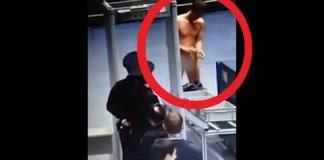 Un homme se met à poil lors d'un contrôle à l'aéroport