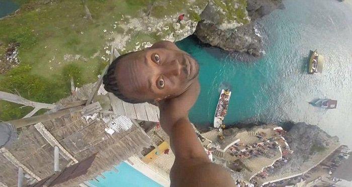 selfie-vertige