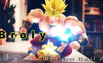 Dragon Ball Z Stop motion- Broly fight Goku and Me