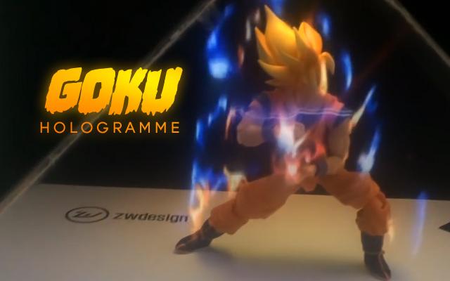 hologramme-dragonBall-Goku