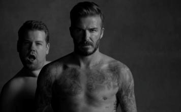 David Beckham and James Corden's New Underwear Line
