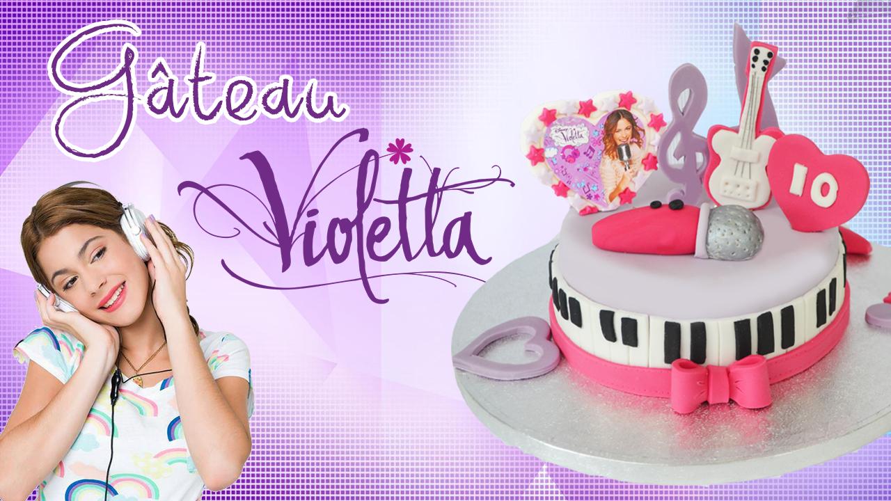 Cake Design Violetta : Gateau Violetta par Cake design - Breakforbuzz