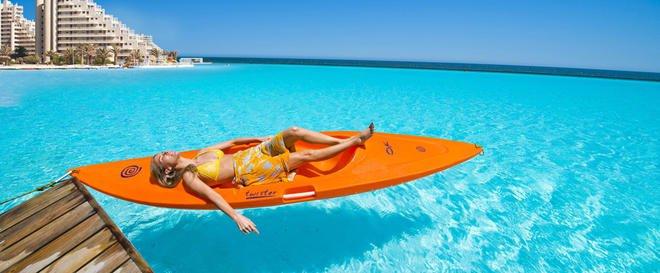 Crystal lagoon d couvrez la plus grande piscine du monde - La plus grande piscine du monde ...