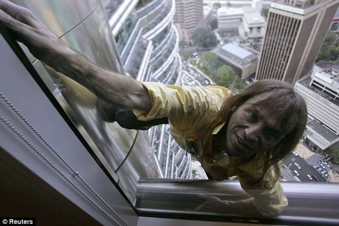 Alain Robert, le Spiderman français