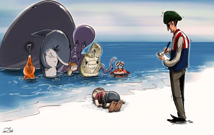 dessin-yaser-ahmad-aylan-kurdi-720x454