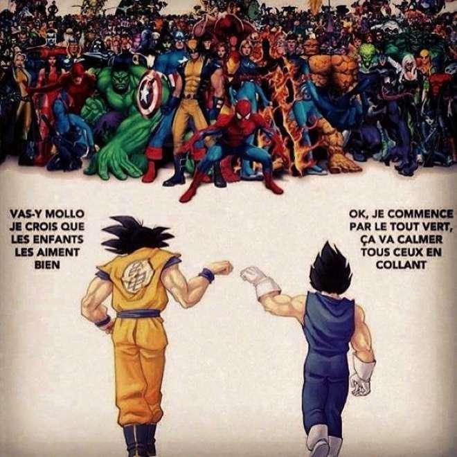 Dragon Ball Z vs Marvel