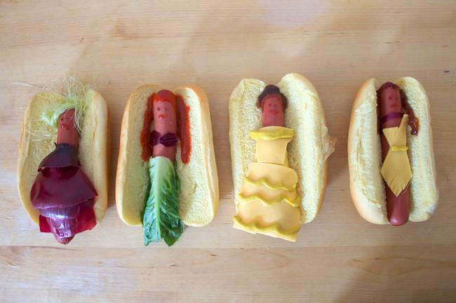 Princesses-Disney-version-hot-dogs