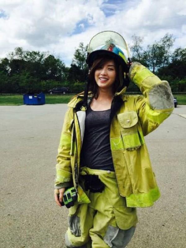 Femme-pompier