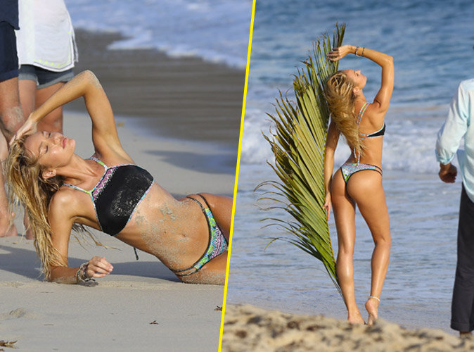 Photos-Candice-Swanapoel-bronzee-fesses-bombees