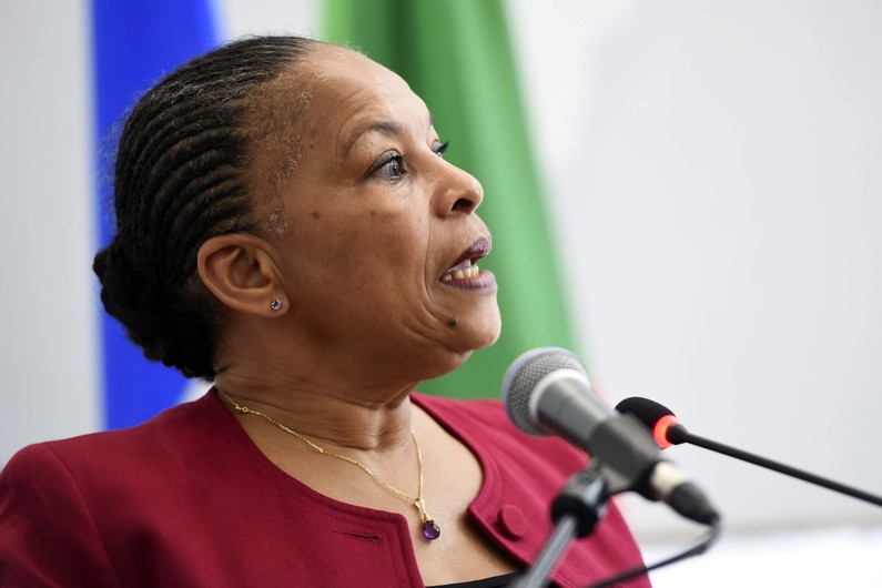 Christiane Taubira démissionne du gouvernement