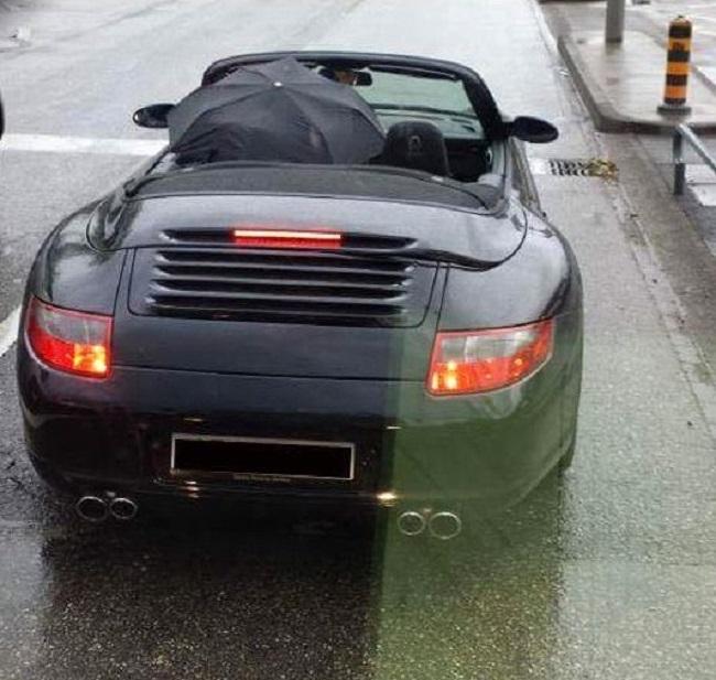 Parapluie-Porsche-decapotable
