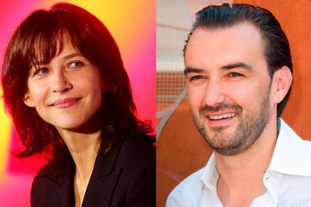 Reactions-couple-Sophie-Marceau-Cyril-Lignac