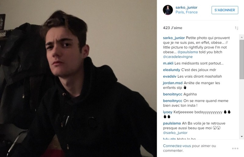 sarko_junior_selfie_reponse