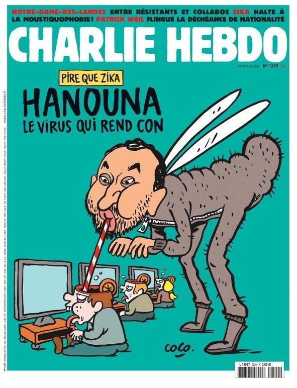 Une de Charlie Hebdo met en colère les fans de Cyril Hanouna