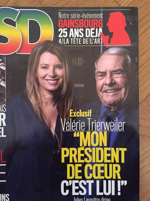 Valérie Trierweiler méconnaissable et photoshopé dans VSD