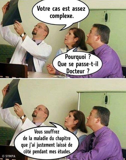 Image drôle du jour (VOTRE CAS EST ASSEZ COMPLEXE ...