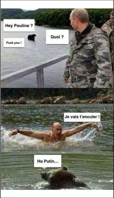 Image drôle du jour (Hey Poutine…)