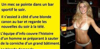 blague blonde