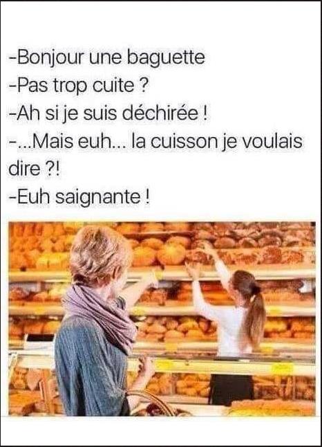 Image Drole Du Jour Bonjour Une Baguette Breakforbuzz