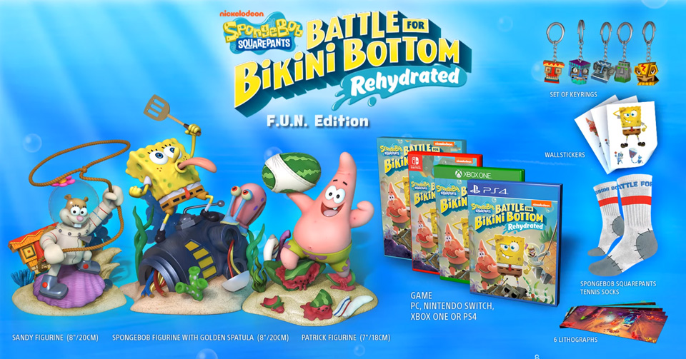 édition-collector-fun-bob-léponge-battle-bikini-bottom