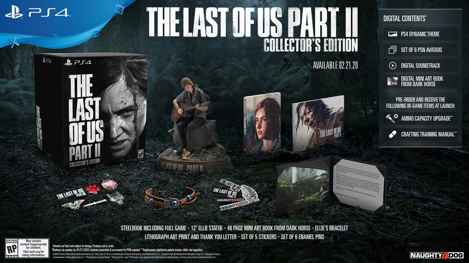 Edition collector – The Last of Us Part 2