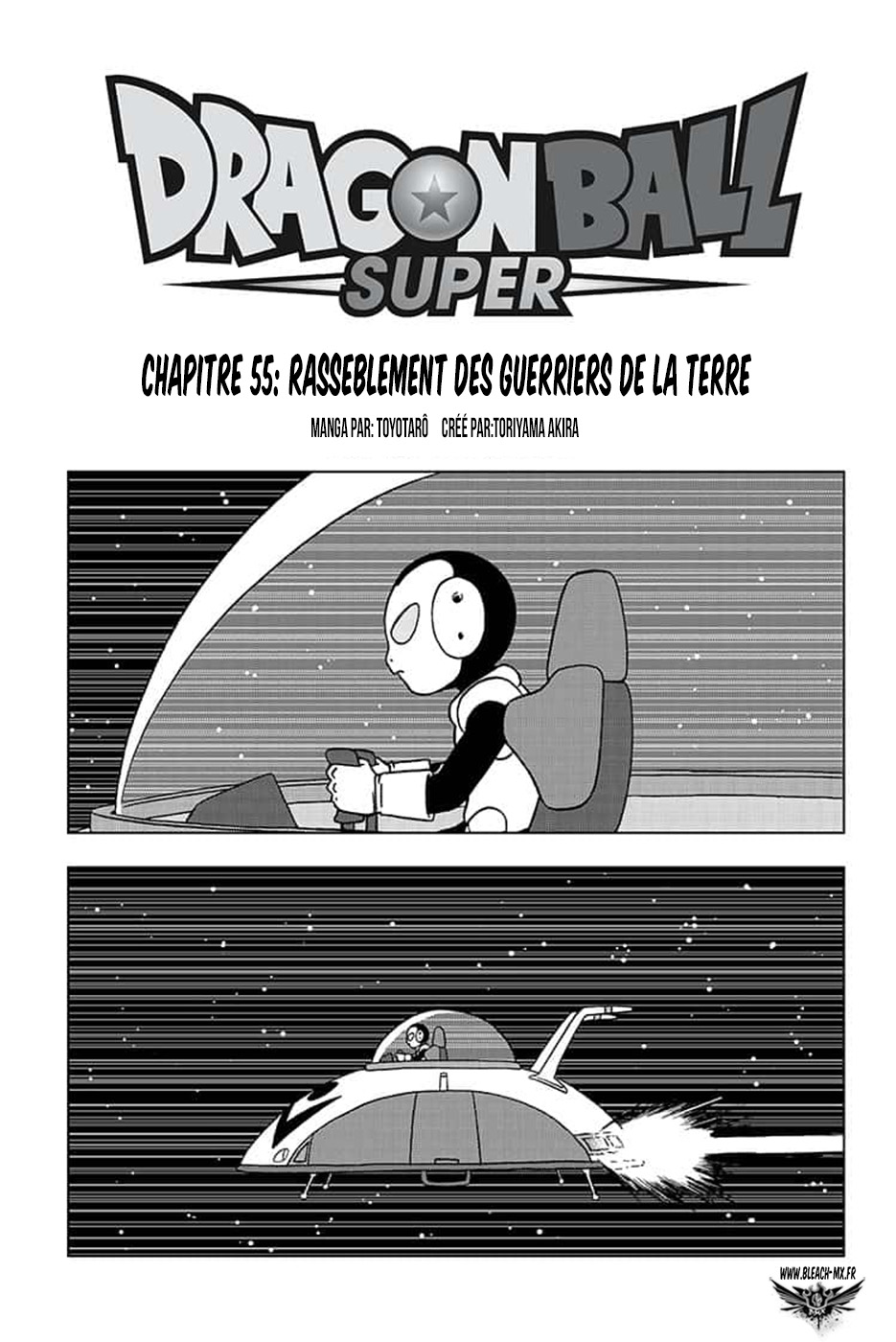 Dragon Ball Super chapitre en francais