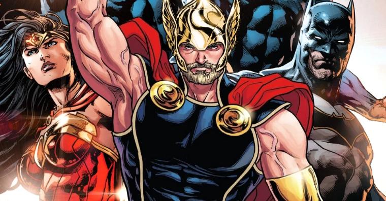Le THOR de Marvel vient de tuer l'univers DC