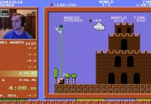 Super Mario Bros. Speedrun in 4:55.913 (Former World Record)
