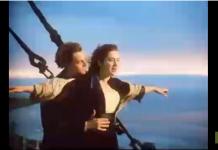 reprise de la chanson de Titanic