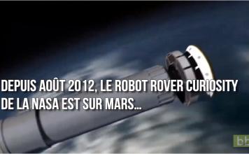 Après 7 ans sur Mars, voici les plus belles photos du robot rover Curiosity