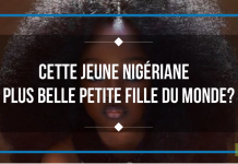 Cette jeune nigériane plus belle petite fille du monde